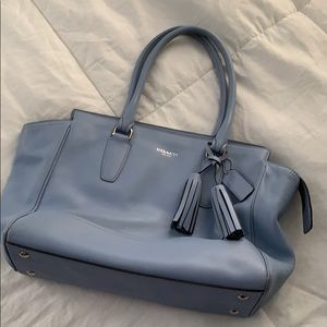Coach Candace Carryall Leather Handbag